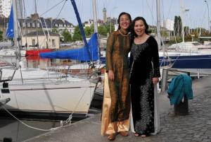 De Lorient à l'Orient-extrême... le Viet Nam à Lorient. Mai 2011. Fête de la Bretagne